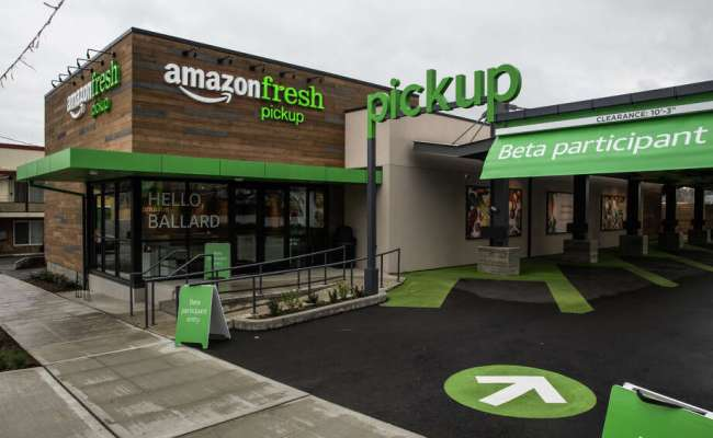 Amazon Unveils New Seattle Stores Grocery Pickup Service