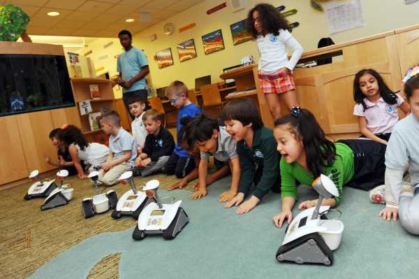 Young Stamford Students Leg In Stem With