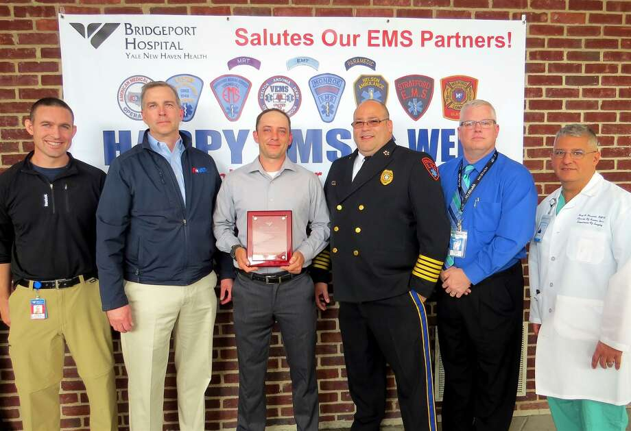 Bridgeport Hospital honors EMS Provider of the Year  NewsTimes