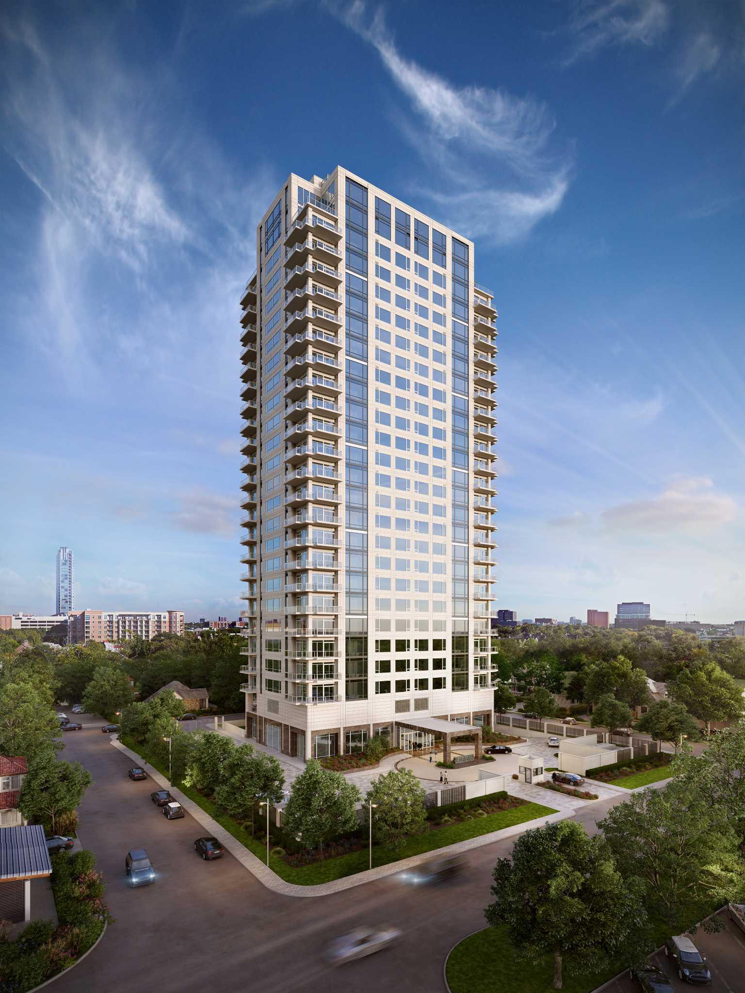 Highrise builder pulls back on luxury tower  Houston