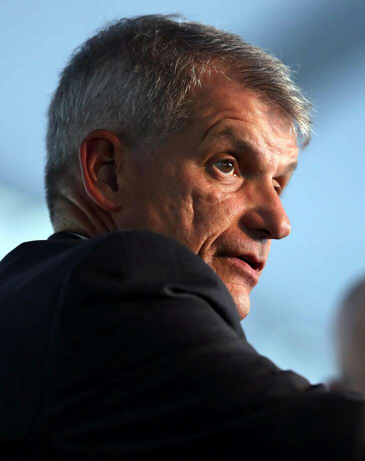 Wells Fargo CEO Tim Sloan says the company's growth reflects some good credit decisions made by colleagues. Photo: Scott Strazzante, The Chronicle