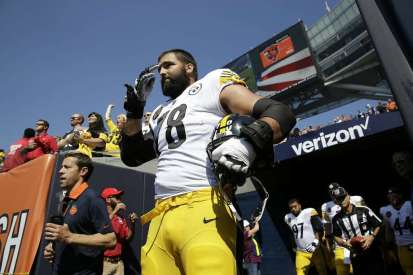Image result for alejandro villanueva national anthem