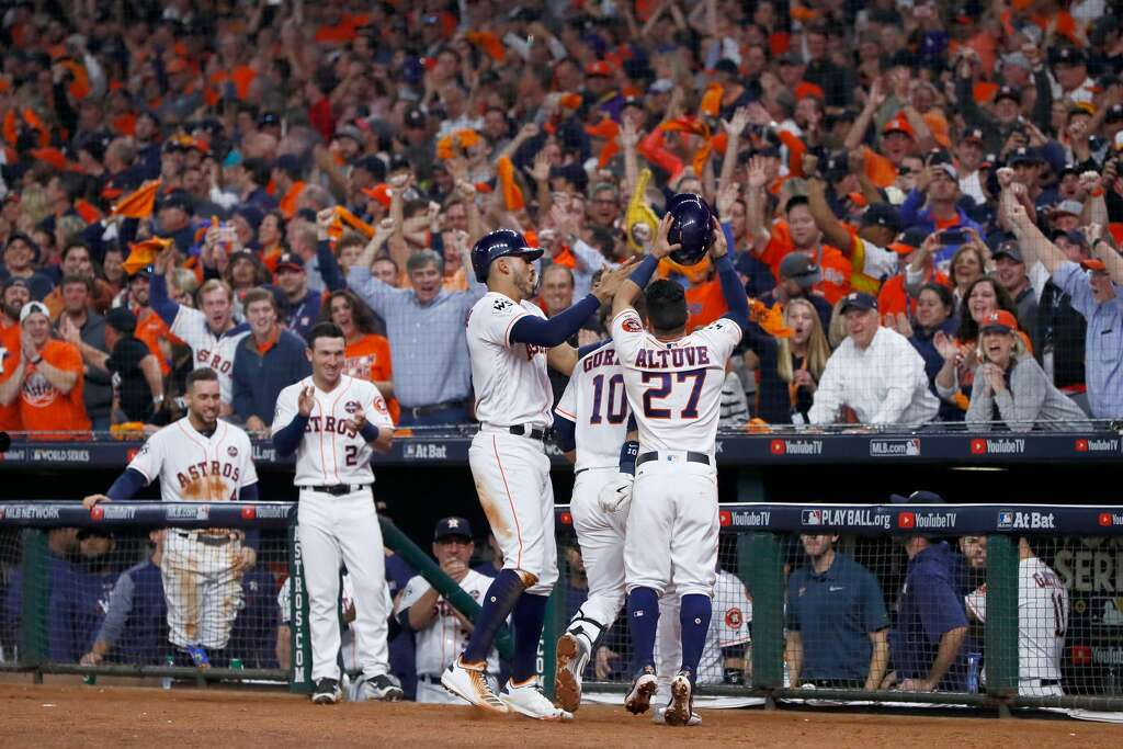 Image result for yuli gurriel home run World Series game 5