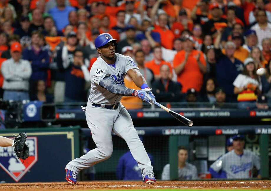 Image result for yasiel puig home run World Series game 5