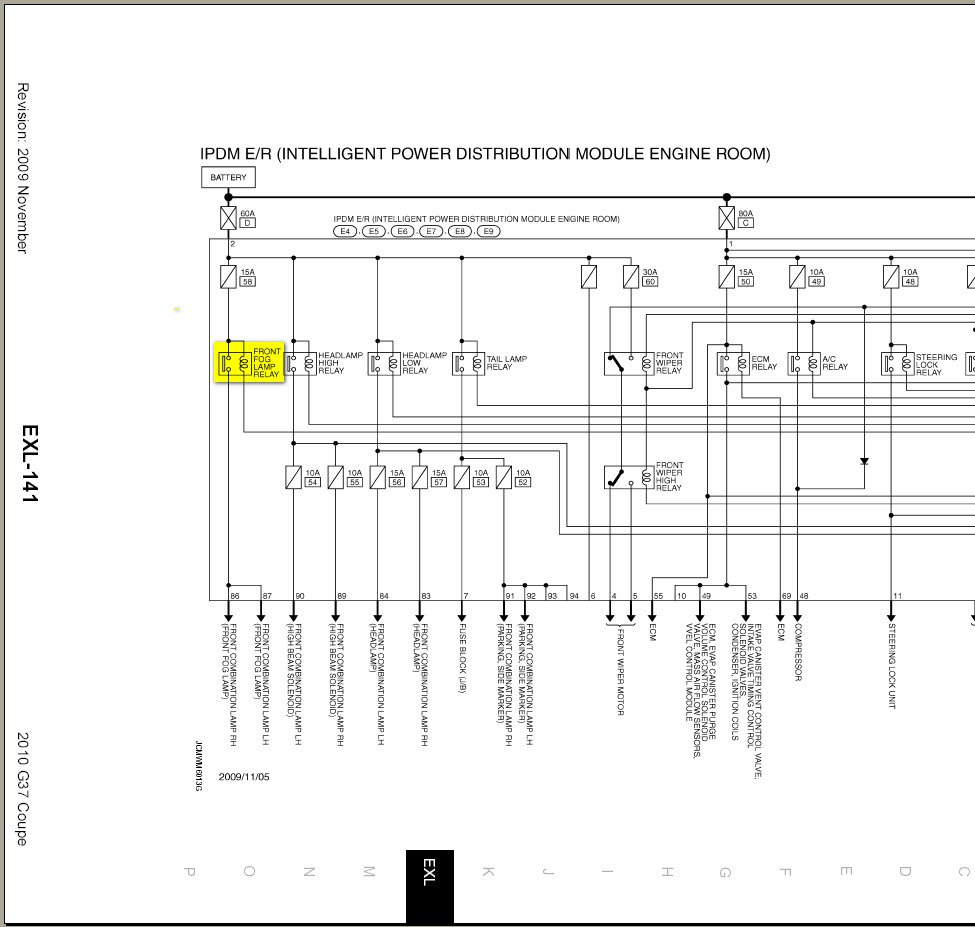 hight resolution of 2006 infiniti g35 fuse box diagram