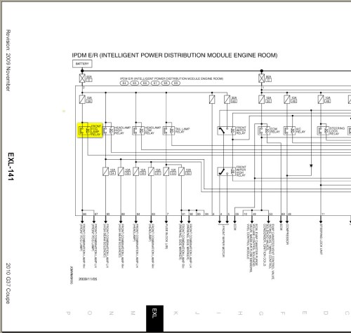 small resolution of 2006 infiniti g35 fuse box diagram