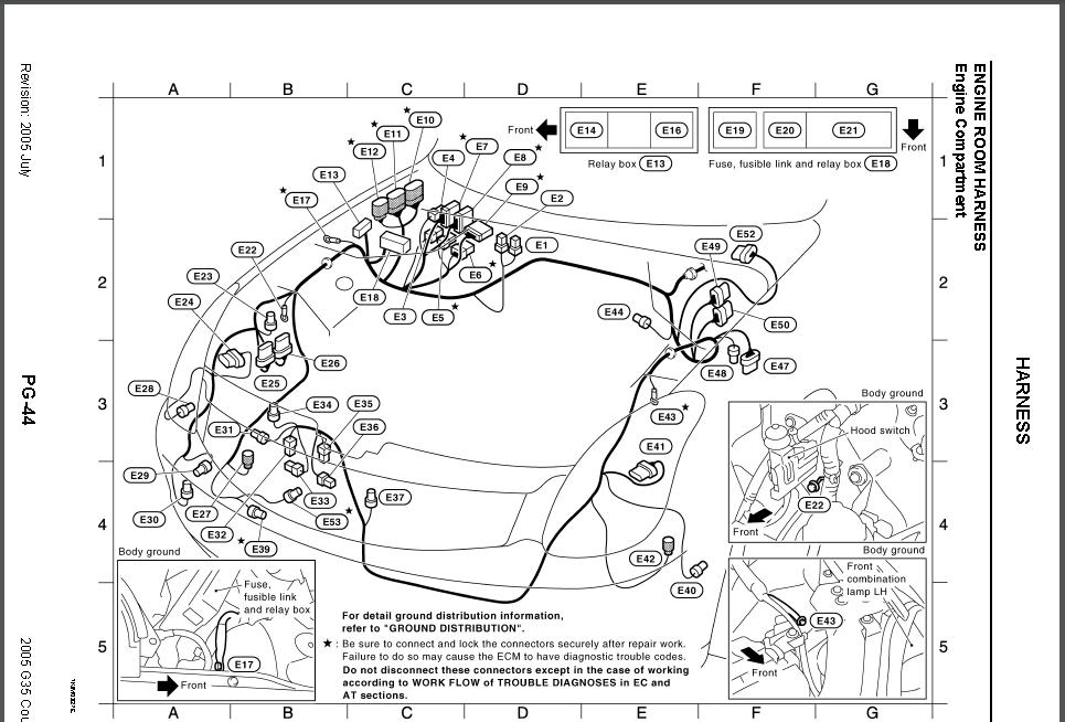 2003 infiniti i 35 engine diagram