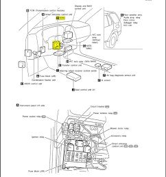 fuse box infiniti qx4 2001 wiring diagrams scematic 2001 infiniti qx4 problems 2001 infiniti qx4 fuse box [ 963 x 1245 Pixel ]