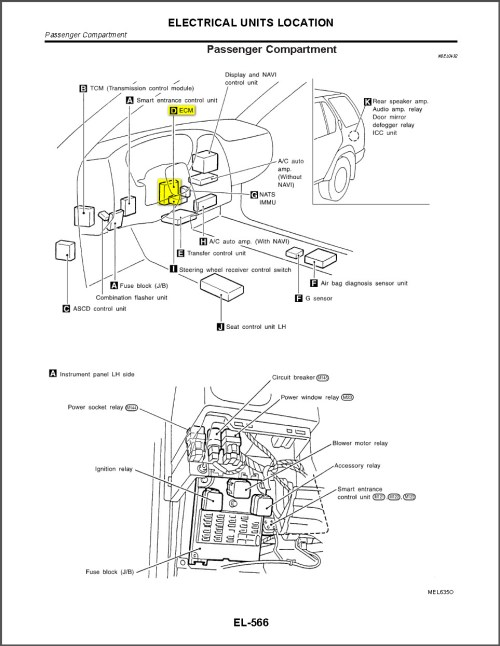 small resolution of 02 nissan pathfinder fuse box