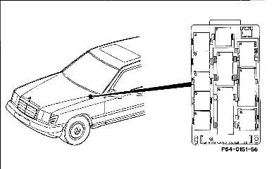 Porqué no funciona el motor de arranque del MB E-320 (W124