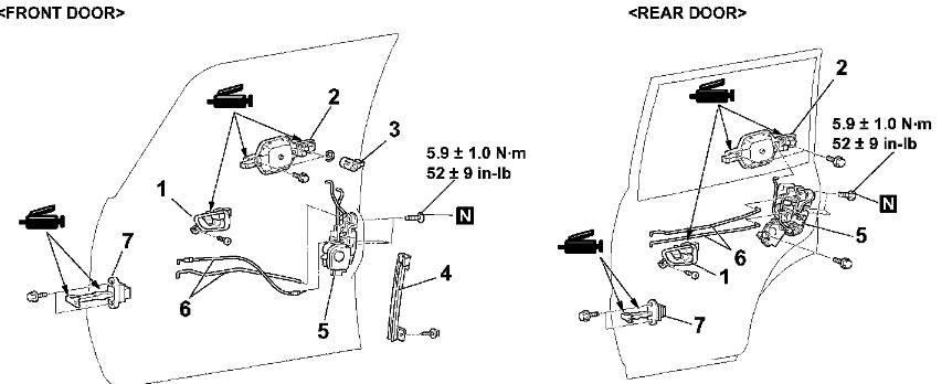 Como se repara el cierre de la puerta del Mitsubishi montero