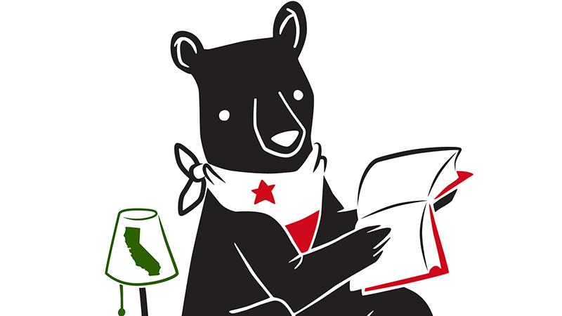 Logo for California Bookstore Day