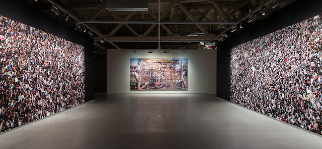 Rashid Rana, installation view, 2014; Courtesy Pier 24 Photography