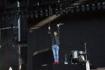 Ryan Lewis performs at BottleRock in Napa, May 26, 2017.