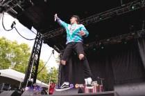 Gnash performs at BottleRock in Napa, May 26, 2017.