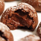 New Year's Party Dessert: The Amazing, Indulgent, Truly Remarkable Mini Chocolate Pudding Puffs