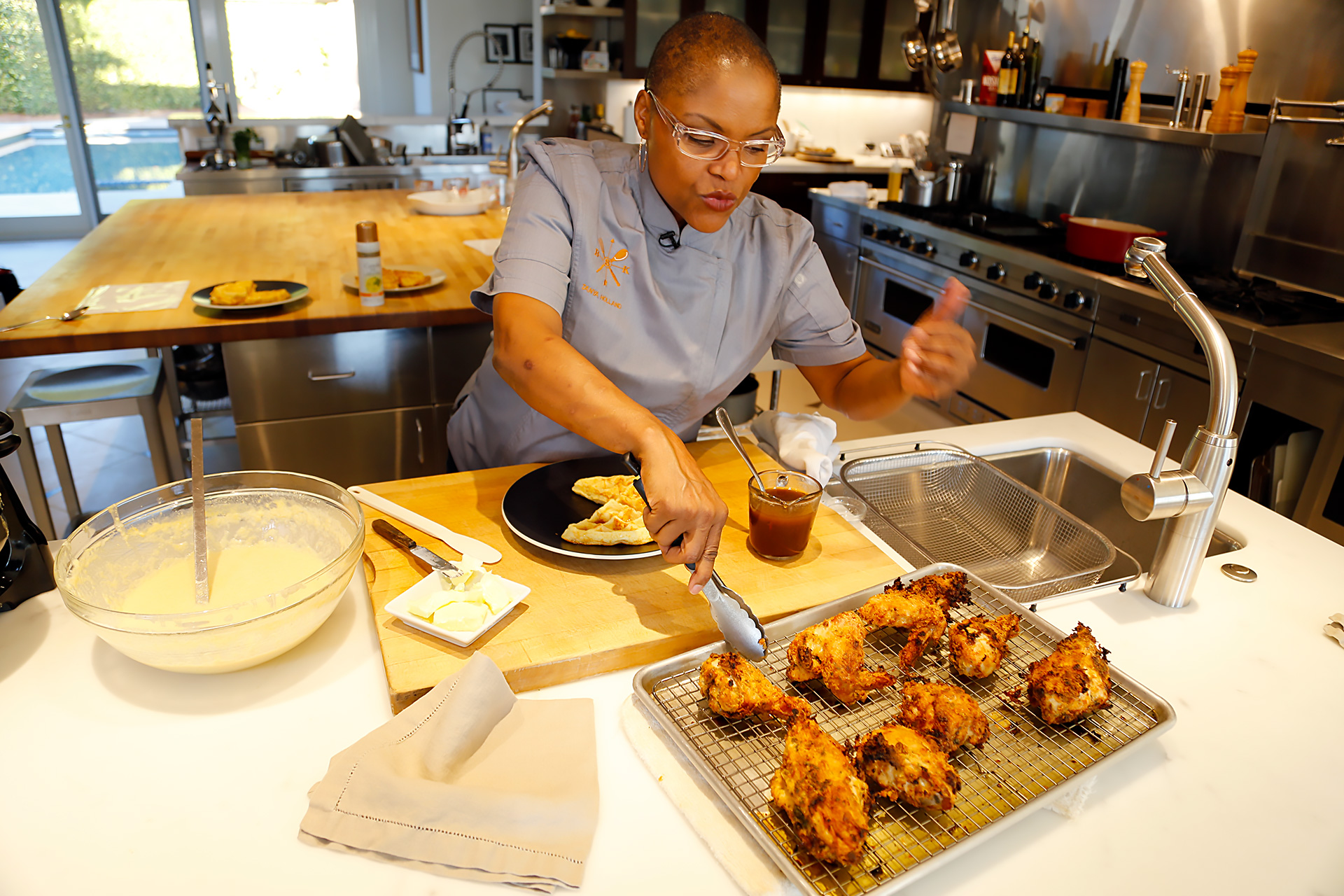Celebrity Chefs Recipes Brown Sugar Kitchens Acclaimed
