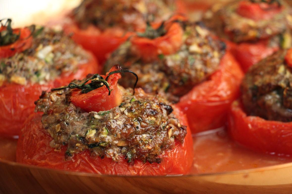 Stuffed Tomatoes  Jacques Pepin  Heart and SoulJacques Pepin  Heart and Soul  KQED Food