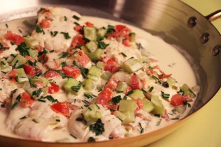 Fillet of Sole Riviera with Pico de Gallo