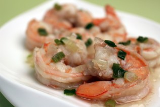 Spicy Shrimp with Cocktail Sauce