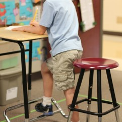Standing Desk Chair Stool Mity Lite Cart How Desks Can Help Students Focus In The Classroom | Mindshift Kqed News