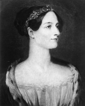 Augusta Ada, Countess of Lovelace, was the daughter of poet Lord Byron. The computer language ADA was named after her in recognition of her pioneering work with Charles Babbagge. (Hulton Archive/Getty Images)