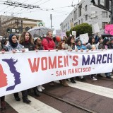 Protesters Gather Across Bay Area and Sacramento for Women's Marches Against Trump