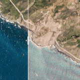 Before and After: Satellite Photos of Vast Big Sur Landslide