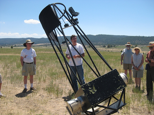 diy telescope workshop at