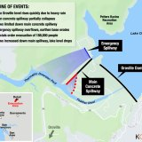 Map: See How Oroville Dam Crisis Unfolded