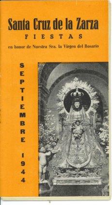 Programa Fiestas 1.944 - Portada