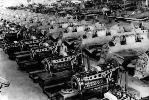small resolution of aircraft factory junkers ju 87b stuka assembly line