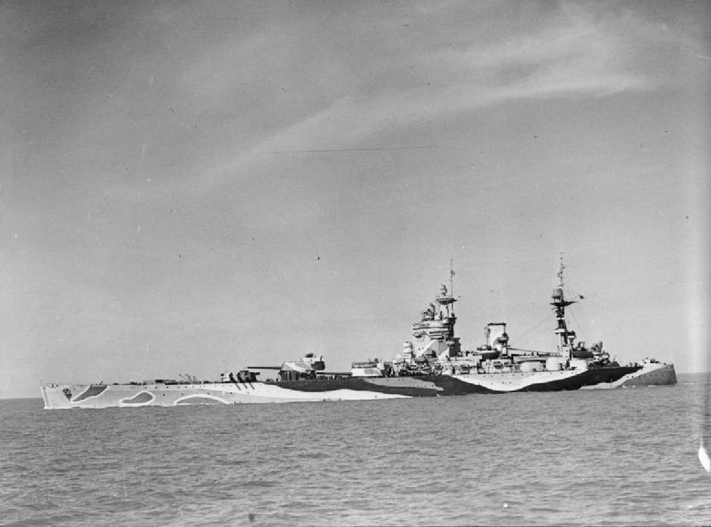 [Photo] HMS Rodney. date unknown | World War II Database
