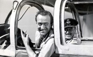 PKT3093 -213594 1961 David Niven in 'The Best of Enemies', the story of a beautiful hatred that began in the desert and lasted all the way to Addis Ababa.