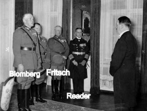 Hitler & his generals at 1935 New Year celebration