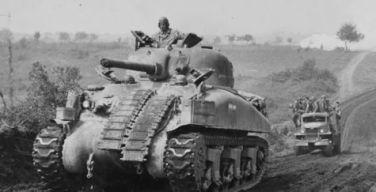 Fury (2014) - M4A3E8 Sherman tank - WW2 Gravestone