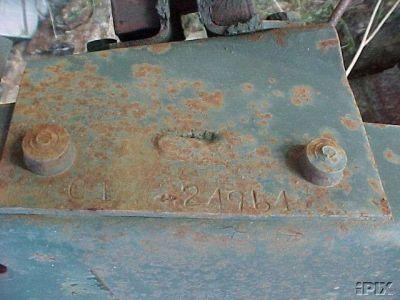 ford gpw frame serial number stamp