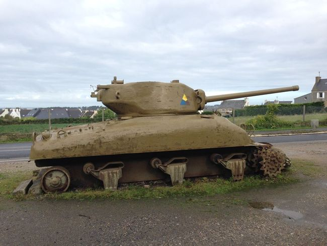 Sherman Tank A Relic Of Pattons Sweep Through Brittany