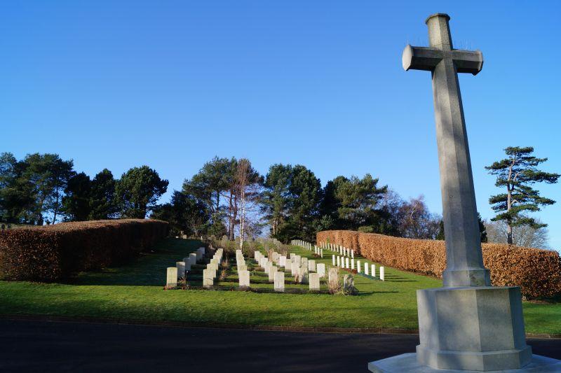 Hastings Cemetery WW2