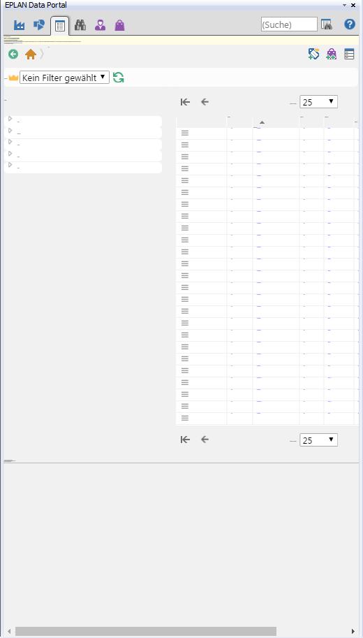 EPLAN 2.7 HF2 Data Portal Schriftgröße (Elektrotechnik