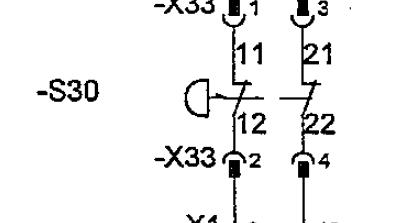 2 poliger drucktaster (Elektrotechnik/EPLAN Electric P8