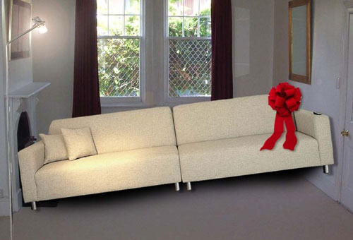 cars sofa chair mart dream sectional found shit » furniture : funny, bizarre, amazing pictures ...