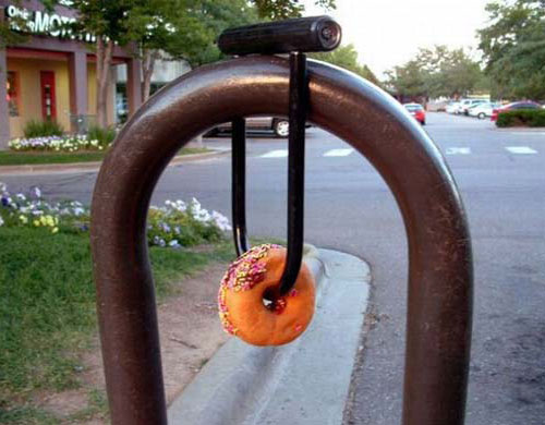Donut Bike Lock