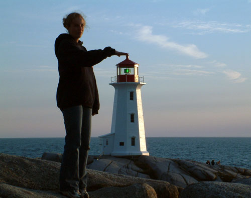 Lighthouse Perspective Photography  Funny Bizarre