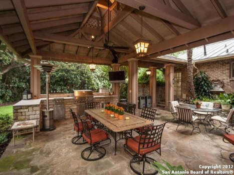 outdoor kitchen covered patio Planning a functional outdoor kitchen - San Antonio Express-News