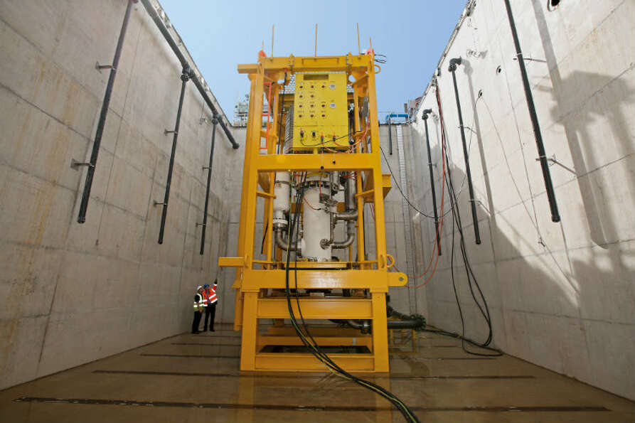 The high-speed, helico-axial multiphase subsea boosting system from FMC Technologies and Sulzer Pump