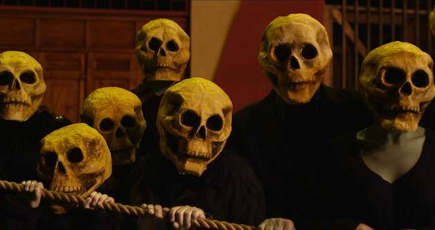"A typically surrealistic scene from 85-year-old filmmaker Alejandro Jodorowsky's ""Dance of Reality."" Photo: ABKCO Films"