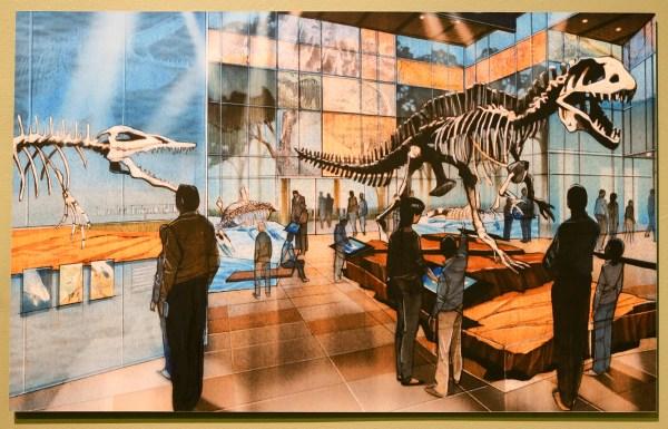 San Antonio Witte Museum Dinosaur
