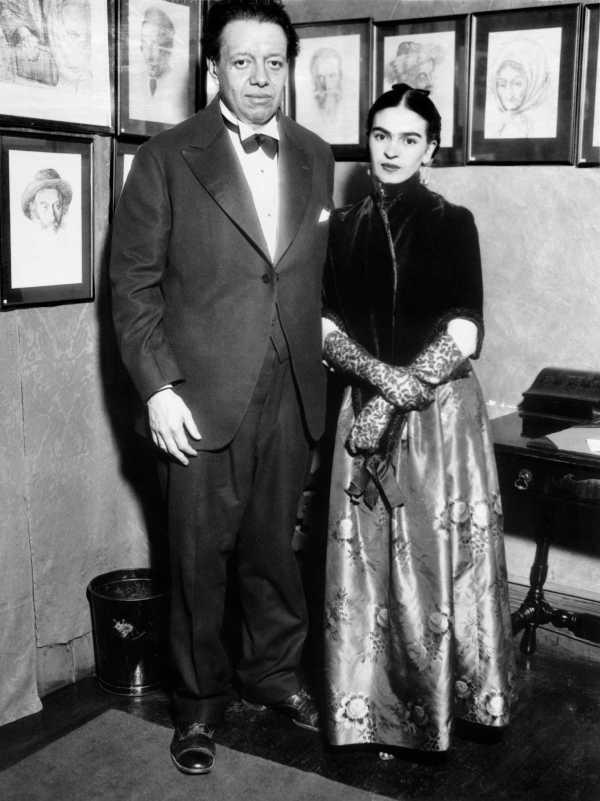 Frida Kahlo And Diego Rivera' Mexico City - Sfgate