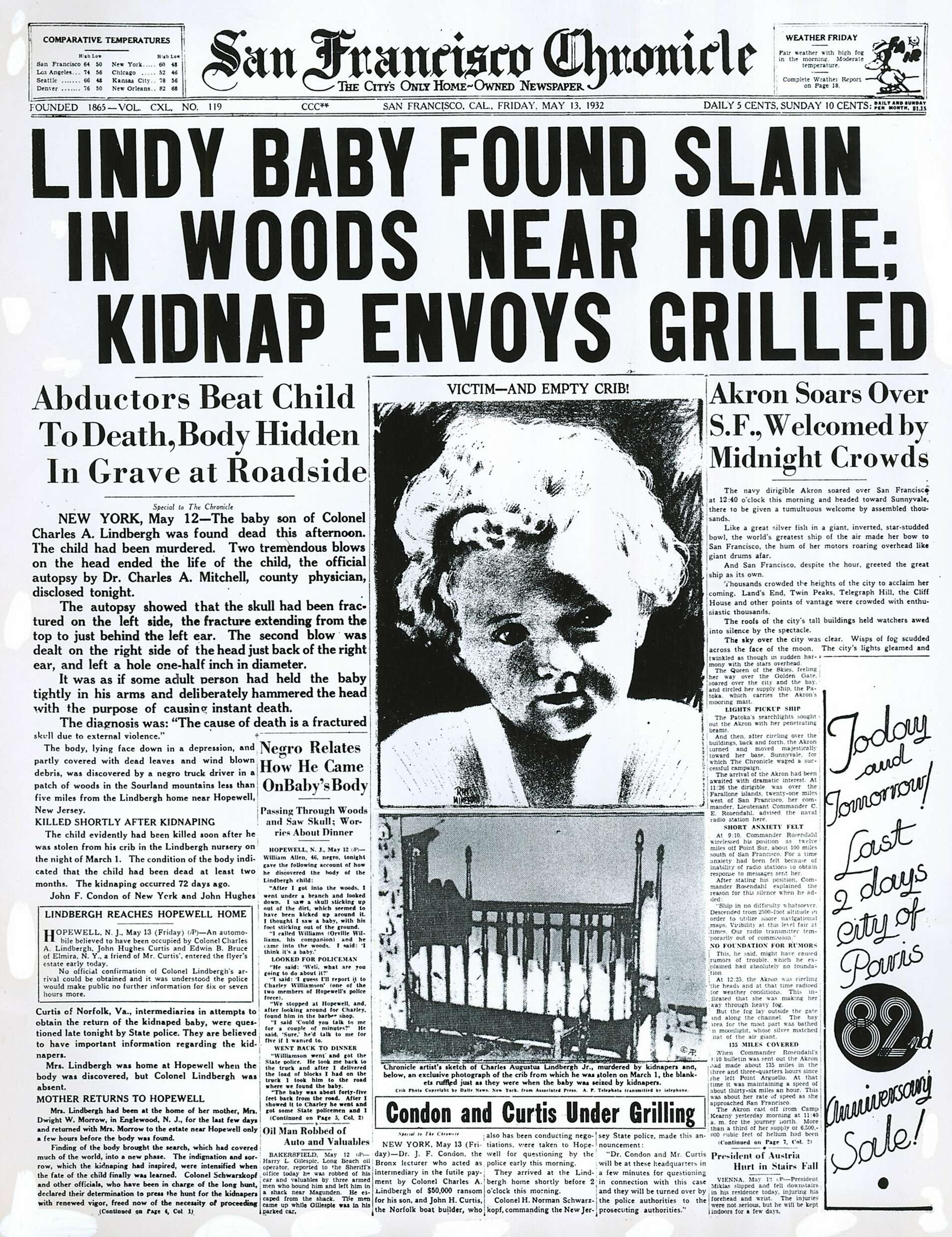 Kidnapping Newspaper Articles